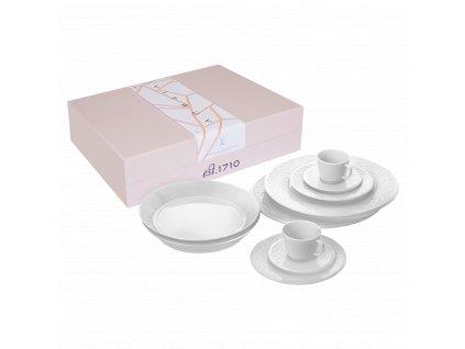 Meissen, Vitruv white - 10 ks set pre dve osoby