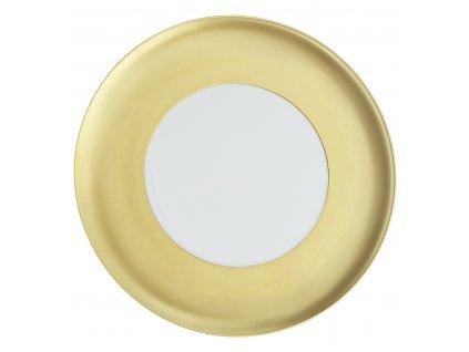 Vista Alegre - servírovací tanier 32,7 cm - Domo Gold