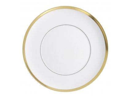 Vista Alegre - plytký tanier 25 cm - Domo Gold