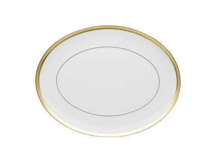 Vista Alegre - veľký oválny tanier 41,6 cm - Domo Gold