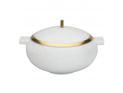 Vista Alegre - polievková misa - Domo Gold