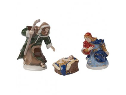 villeroy boch Nativity Holy Family 3 piece set 30
