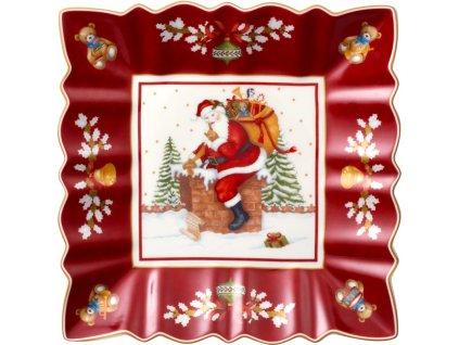 Toy's Fantasy - štvorcová misa Santa - Villeroy & Boch