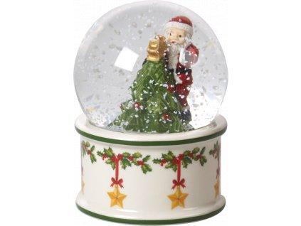 Christmas Toys - snehová guľa, malá 9 cm  - Villeroy & Boch