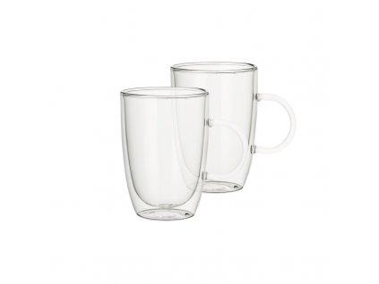 Villeroy & Boch - Artesano Hot Beverages, Set 2 ks, univerzálna šálka na čaj, punč, latte macchiato 0,39l/122mm