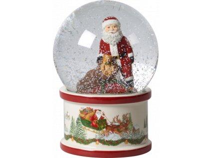 Christmas Toys - snehová guľa, veľká 17 cm  - Villeroy & Boch