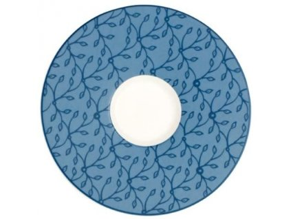 Caffe Club - Floral - podšálka na bielu káva 17 cm - C.C.Flo.cornflower