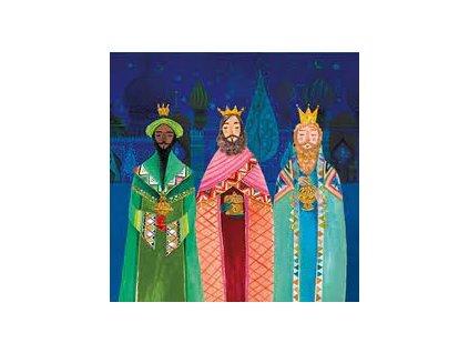 traja králi