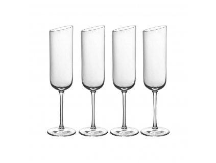 NewMoon - pohár na šampanské, 0,17 L , 4 KS