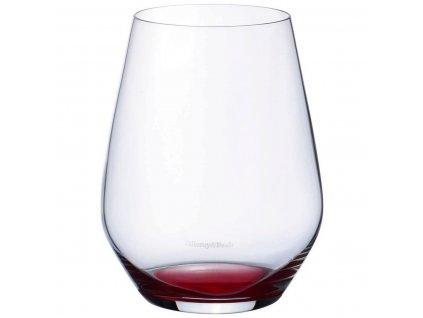 Villeroy & Boch - poháre na vodu Set 4 ks - Colourful Life - červené