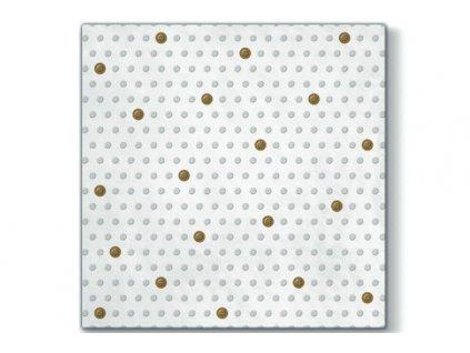 Servítky Biela perleť  33x33 cm