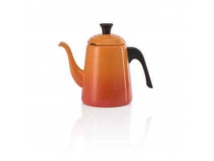 Le Creuset  - kanvica, čajník 0,7 l - oranžový