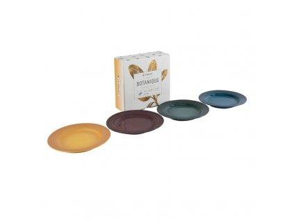 79225171139030 Le Creuset Botanique Stoneware 4 Piece Side Plates Set With Gift Box 800x