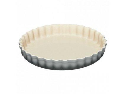 aardewerken taartvorm mist grey 28cm 1612213425
