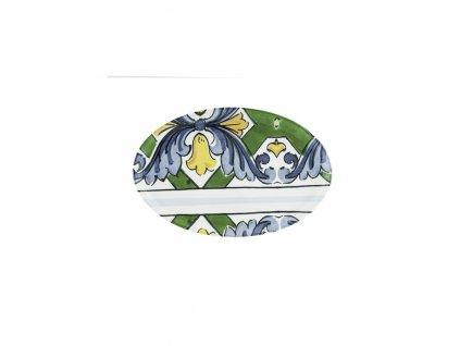 96897 piatto portata ovale ceramica sotto