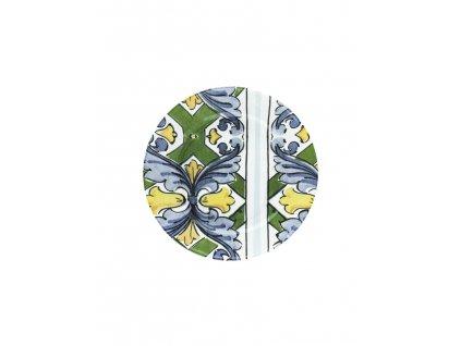 96898 piatto portata tondo ceramica sotto