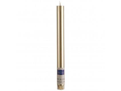 Villeroy & Boch - sviečka 25cm  -Gold