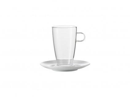 2125 sada salku na latte s podsalkem 500ml concept set 2ks jenaer glas