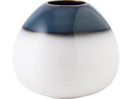 23753 1 vaza drop bleu 14 5 x 13 cm lave home