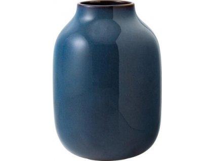 23759 1 vaza nek bleu uni 15 5 x 22 cm lave home