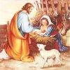 Servítky veľké Narodenie Ježiška