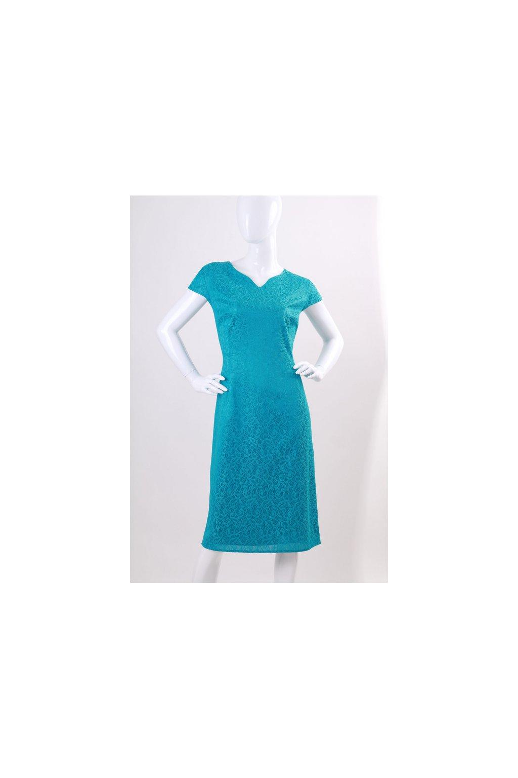Krásné tyrkysové šaty Turquoise 2