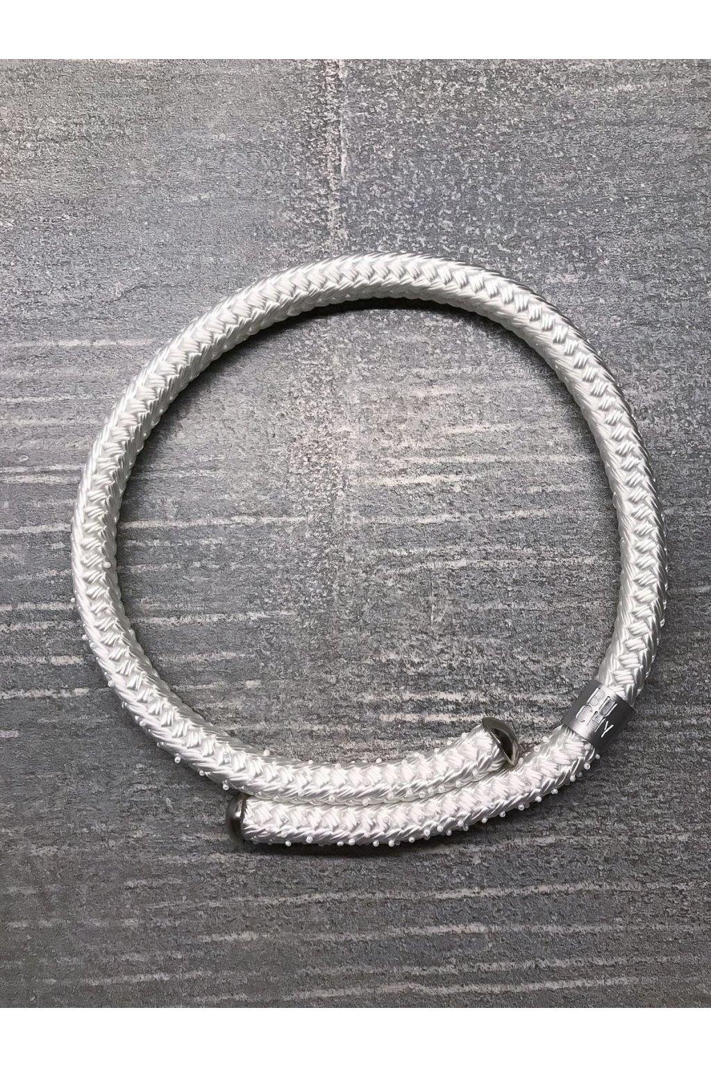 Bílý svatební náhrdelník 1