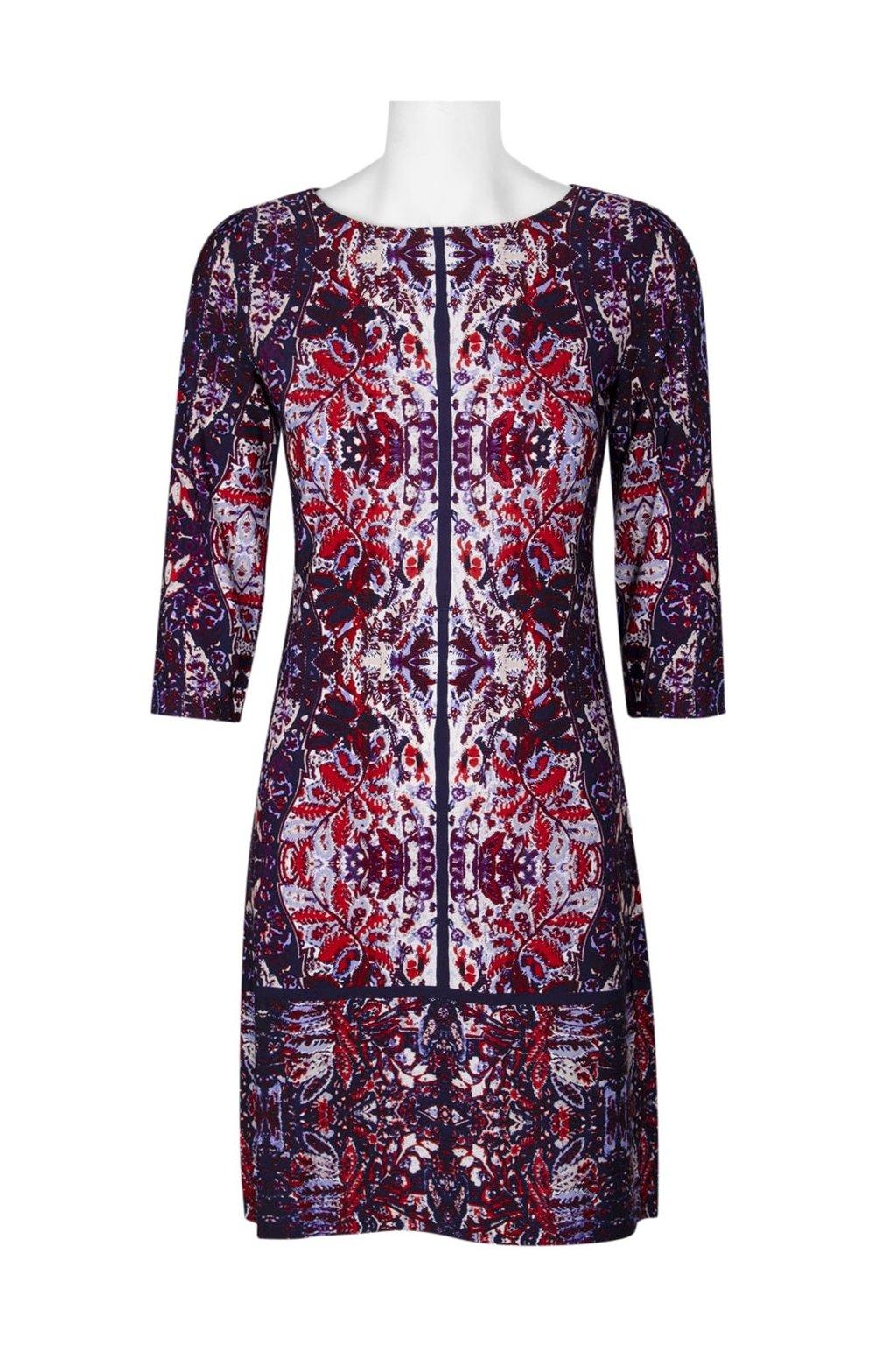 Letní barevné šaty Anastazia 1