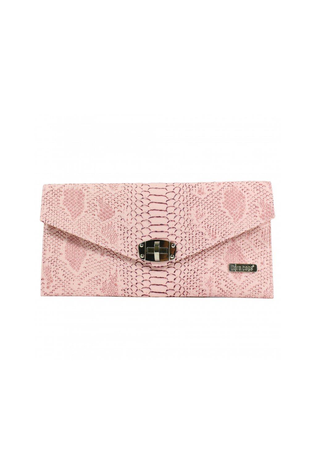 Malá kabelka Malibu Classy růžová 1