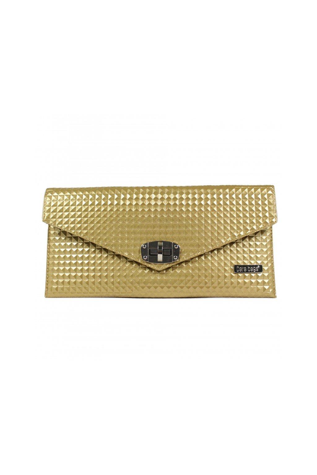 Malá kabelka Malibu Classy zlatá 1