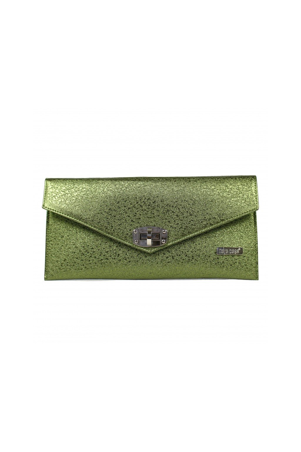 Malá třpytivá kabelka Malibu Classy Dara bags zelená 1