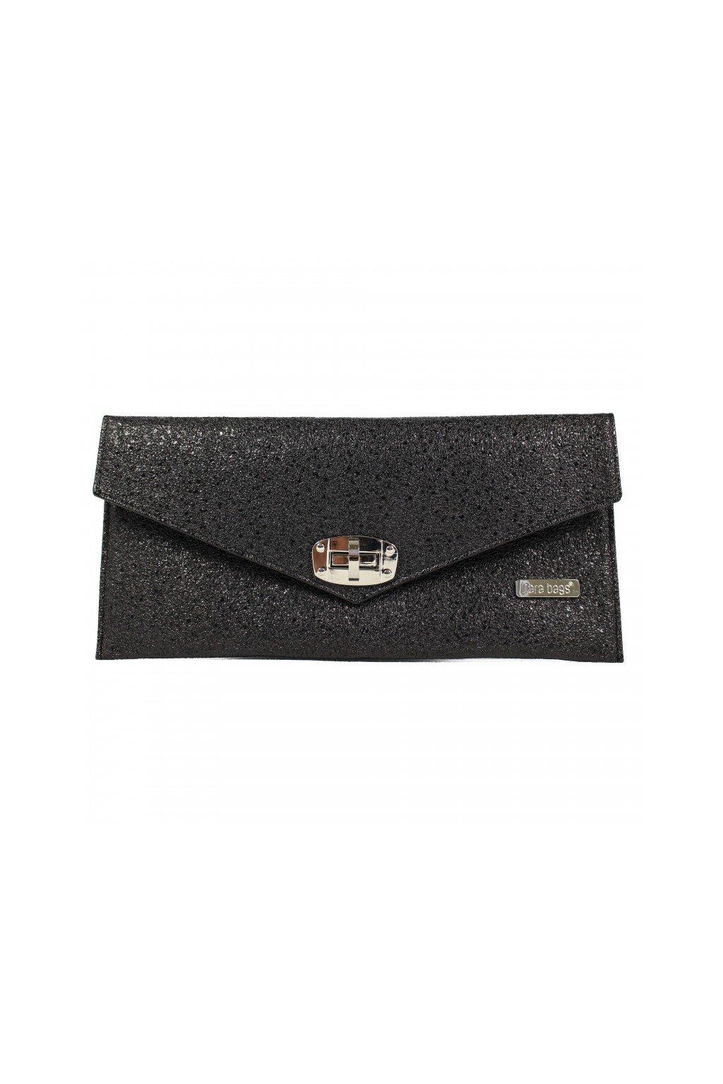 Malá třpytivá kabelka Malibu Classy Dara bags černá 1