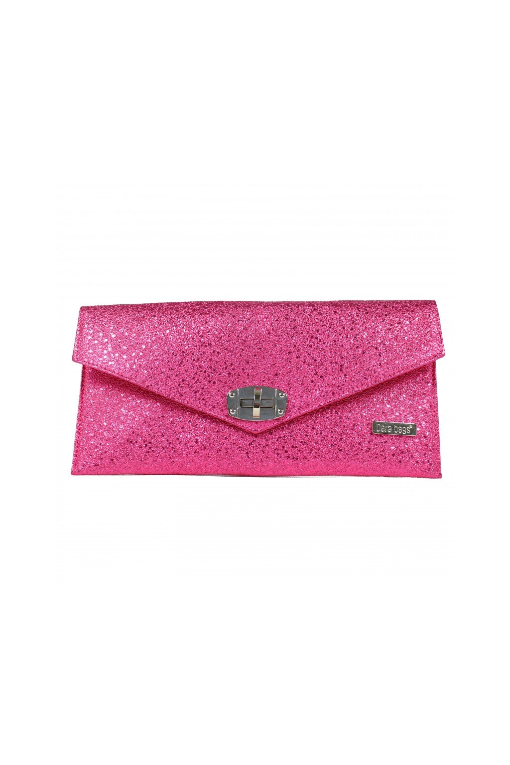 Malá třpytivá kabelka Malibu Classy Dara bags růžová 1