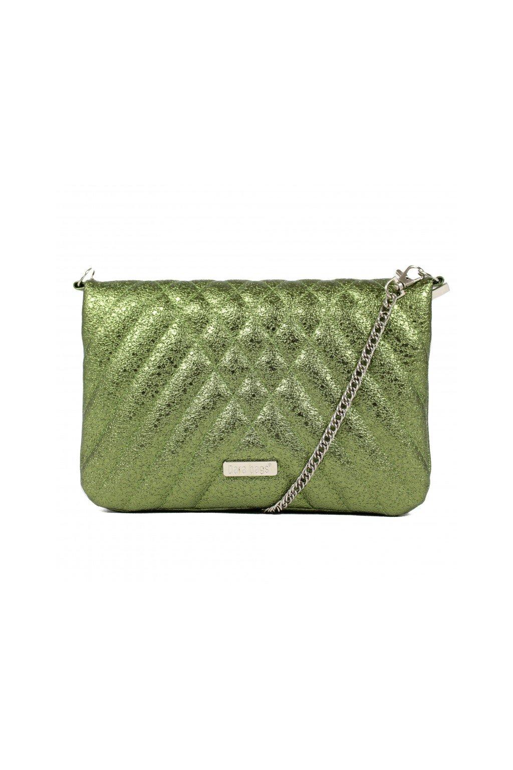 Třpytivá malá kabelka Cocktail Chick Dara bags zelená 1