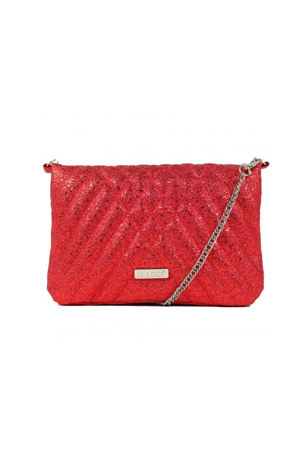 Třpytivá malá kabelka Cocktail Chick Dara bags červená 1