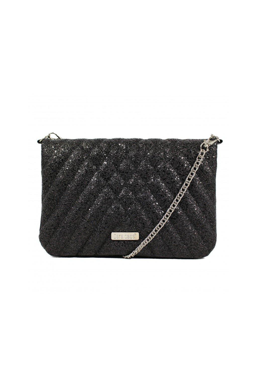 Elegantní třpytivá malá kabelka Cocktail Chick Dara bags černá 1
