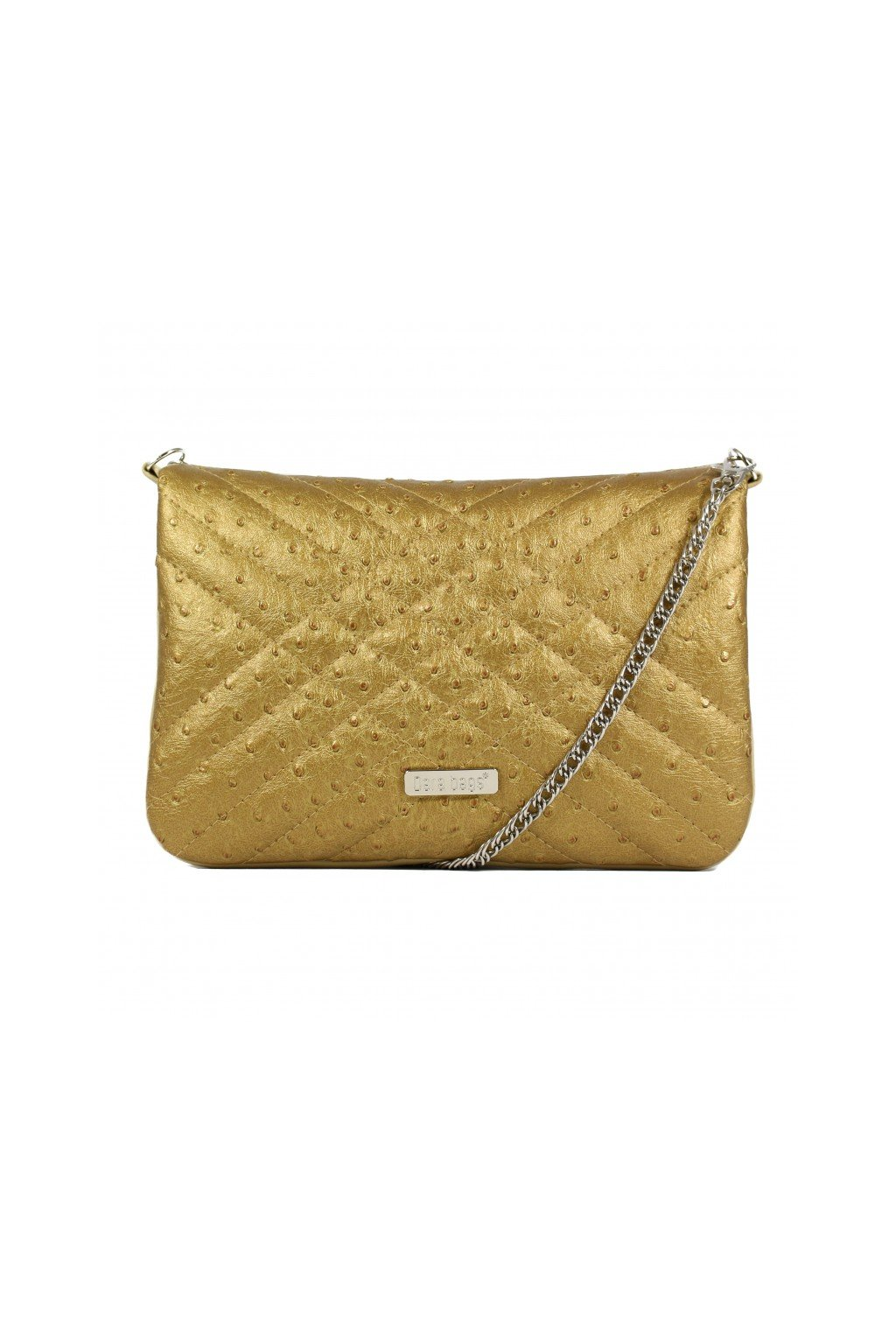 Třpytivá malá kabelka Cocktail Chick Dara bags zlatá 1
