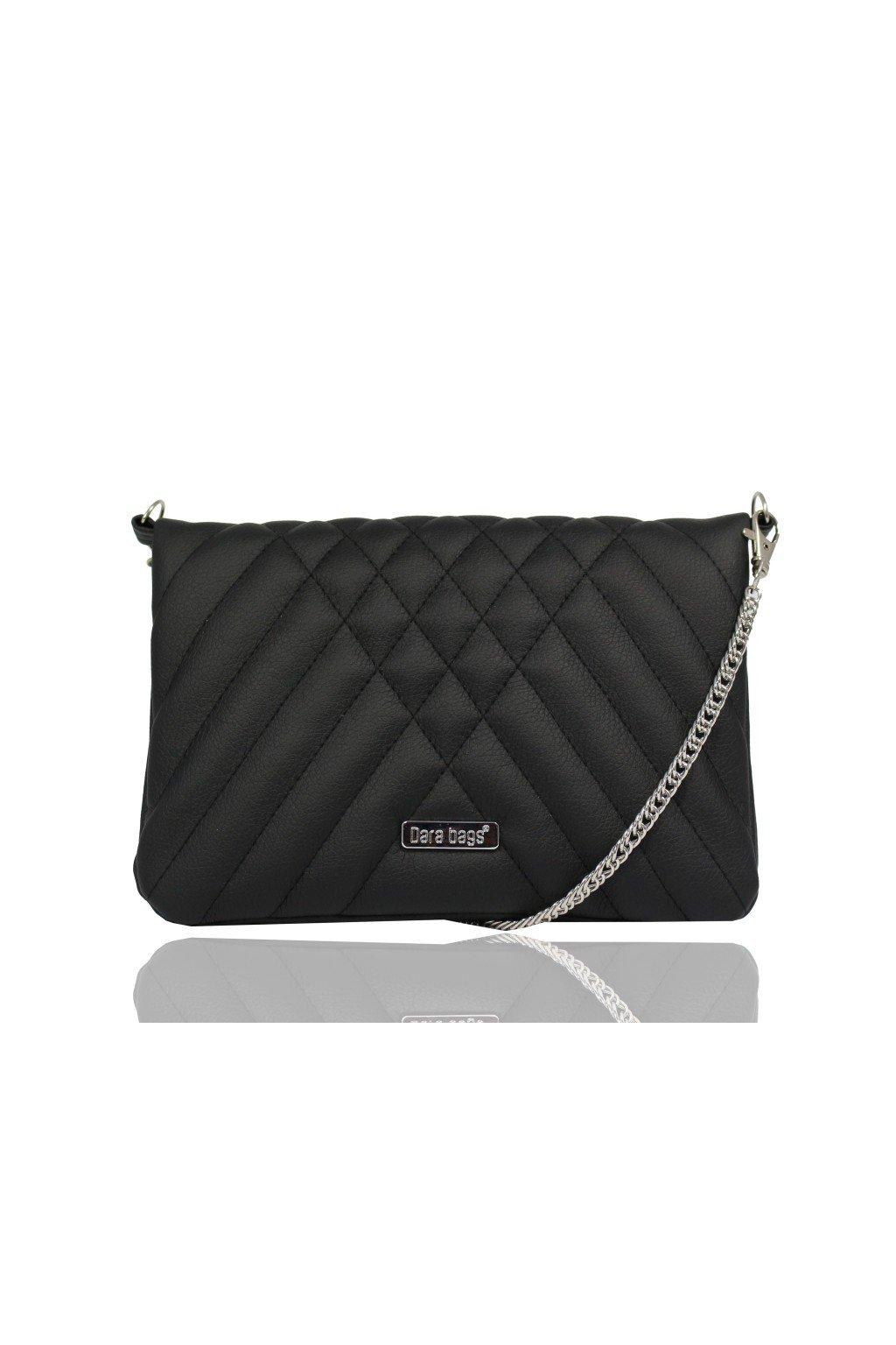 Elegantní malá kabelka Cocktail Chick Dara bags černá 1