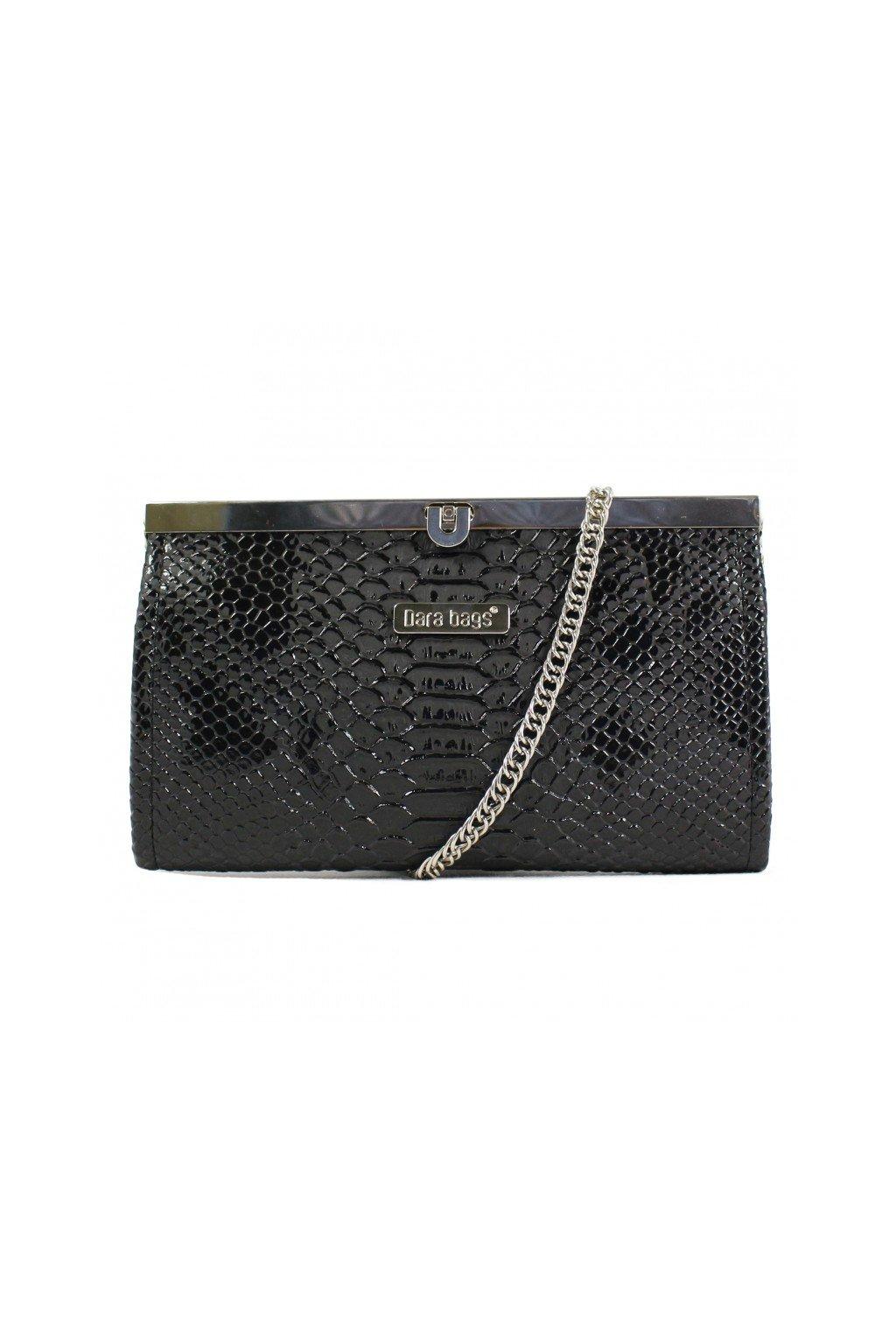 Elegantní malá kabelka Merci Dara bags černá 1