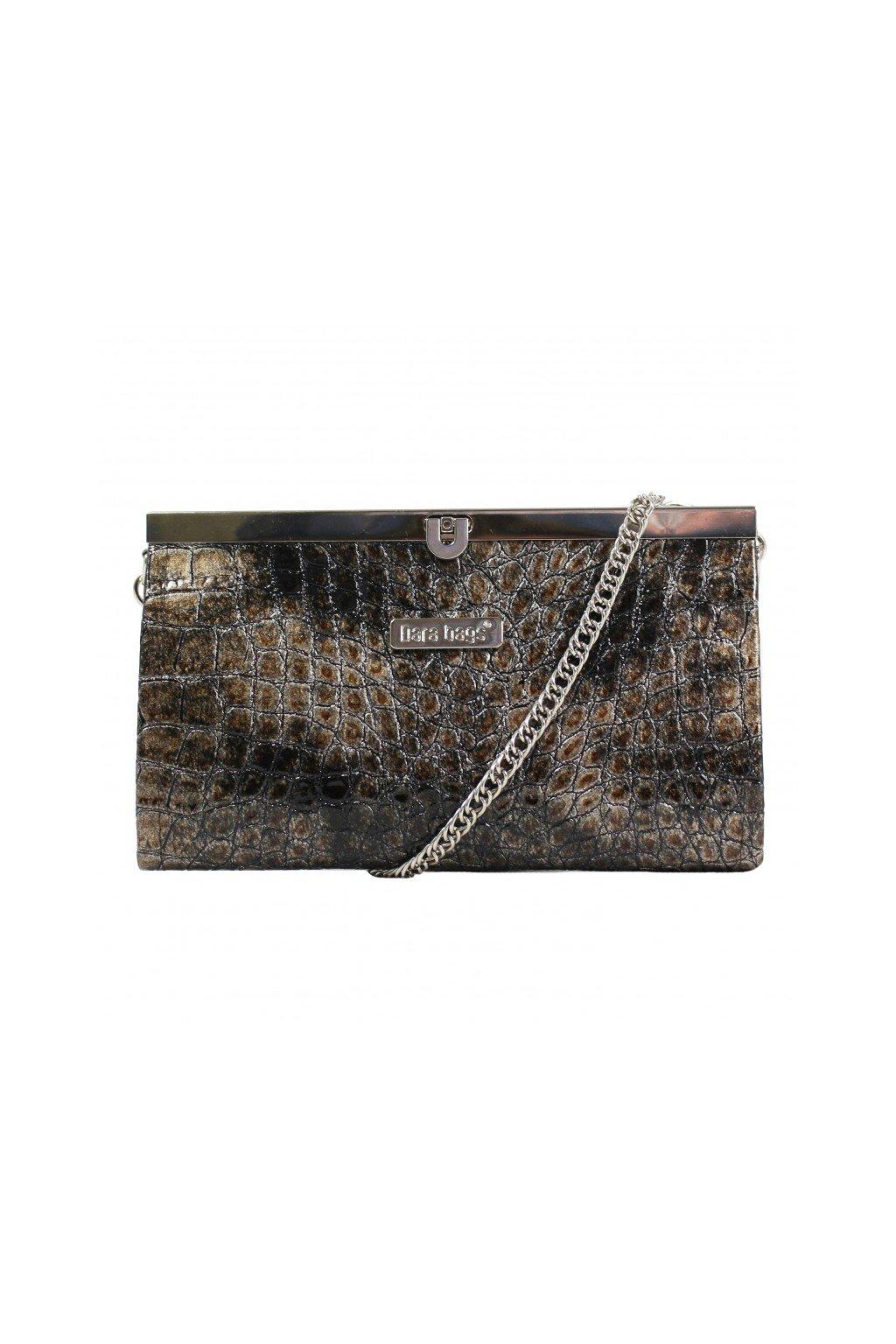 Elegantní malá kabelka Merci Dara bags hnědá 1