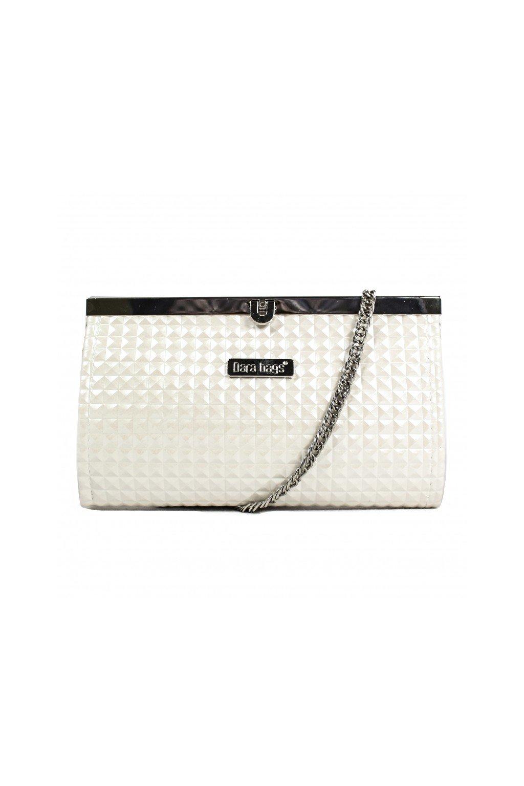 Elegantní malá kabelka Merci Dara bags bílá 1