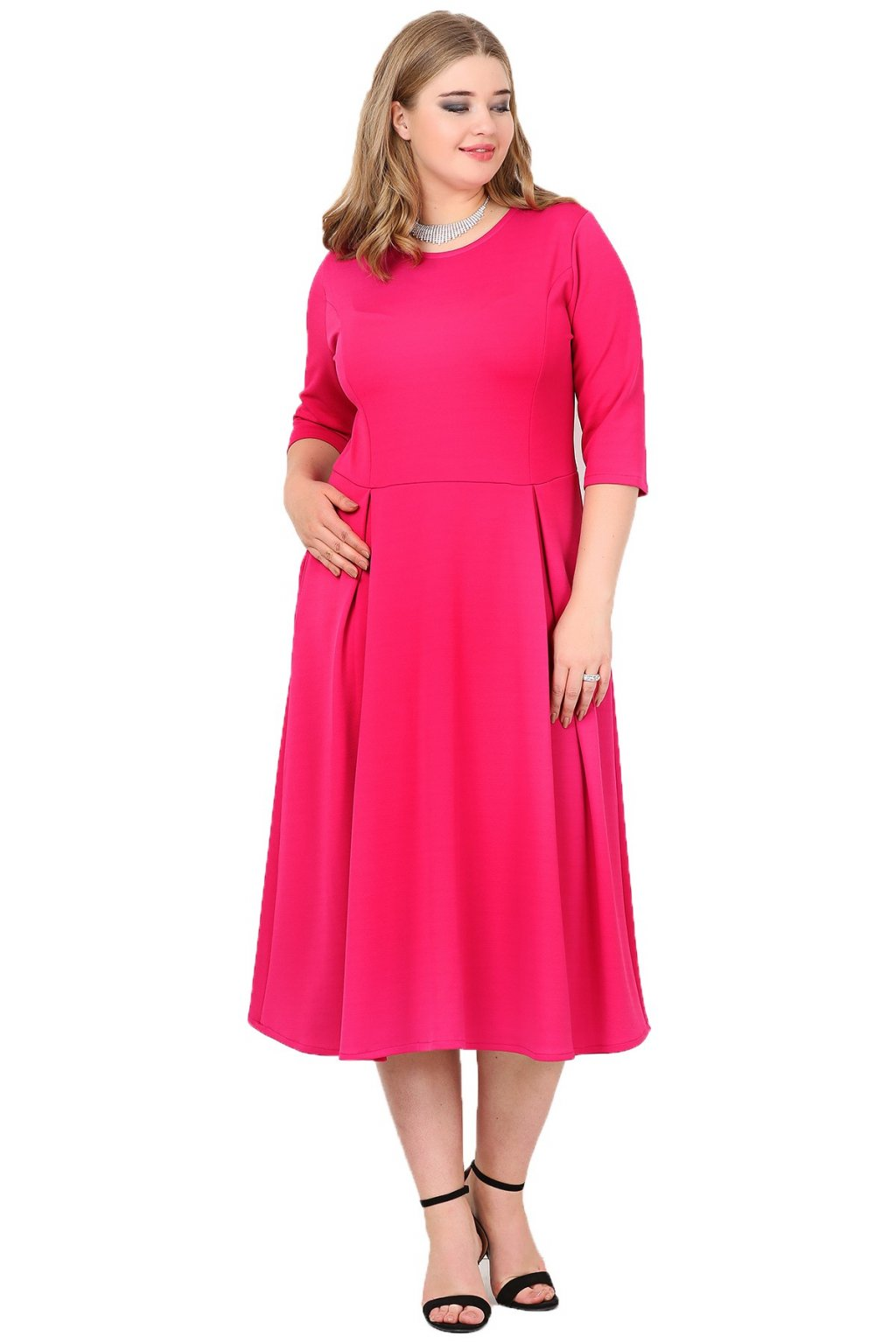 Dámské šaty Paola růžové 1