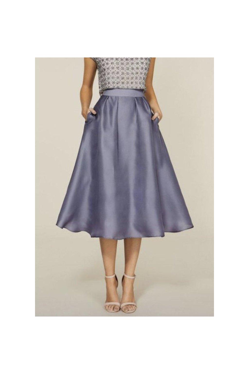 Krátká saténová sukně Lada