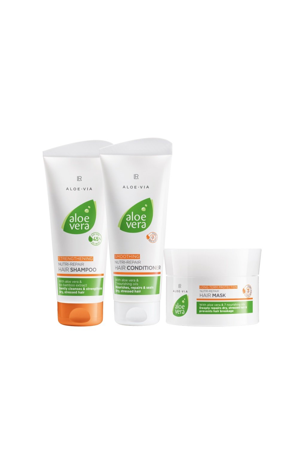 LR Health & Beauty Aloe Vera Nutri Repair Série Vlasové Péče