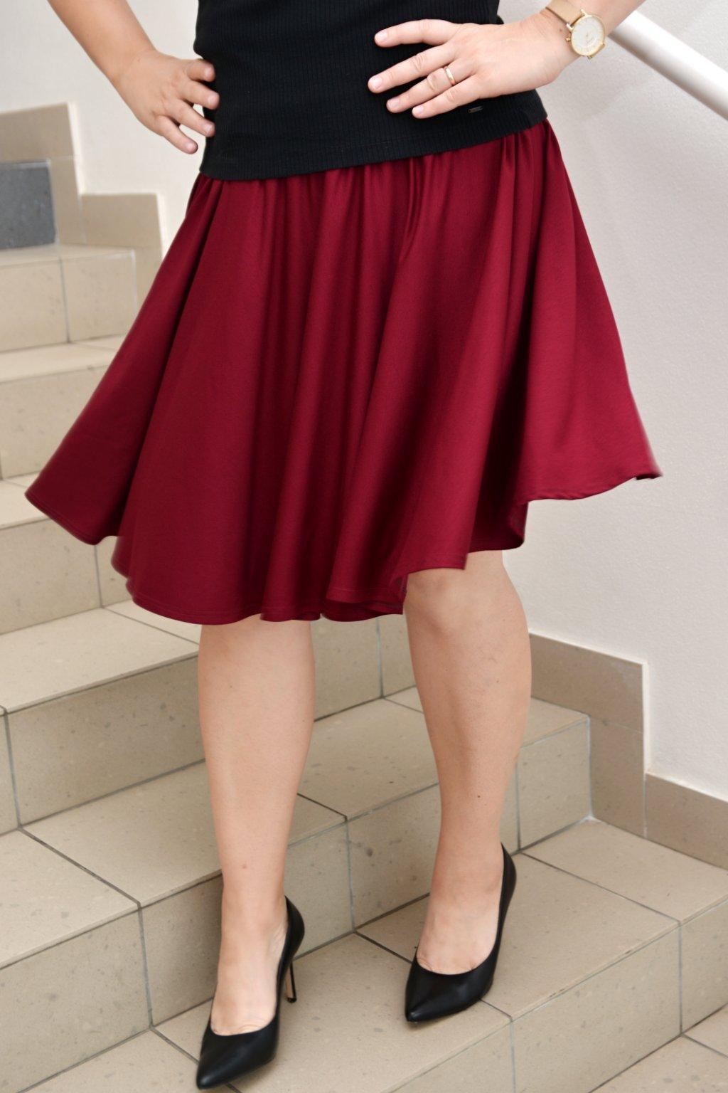 Letní kolová sukně Sarah 4