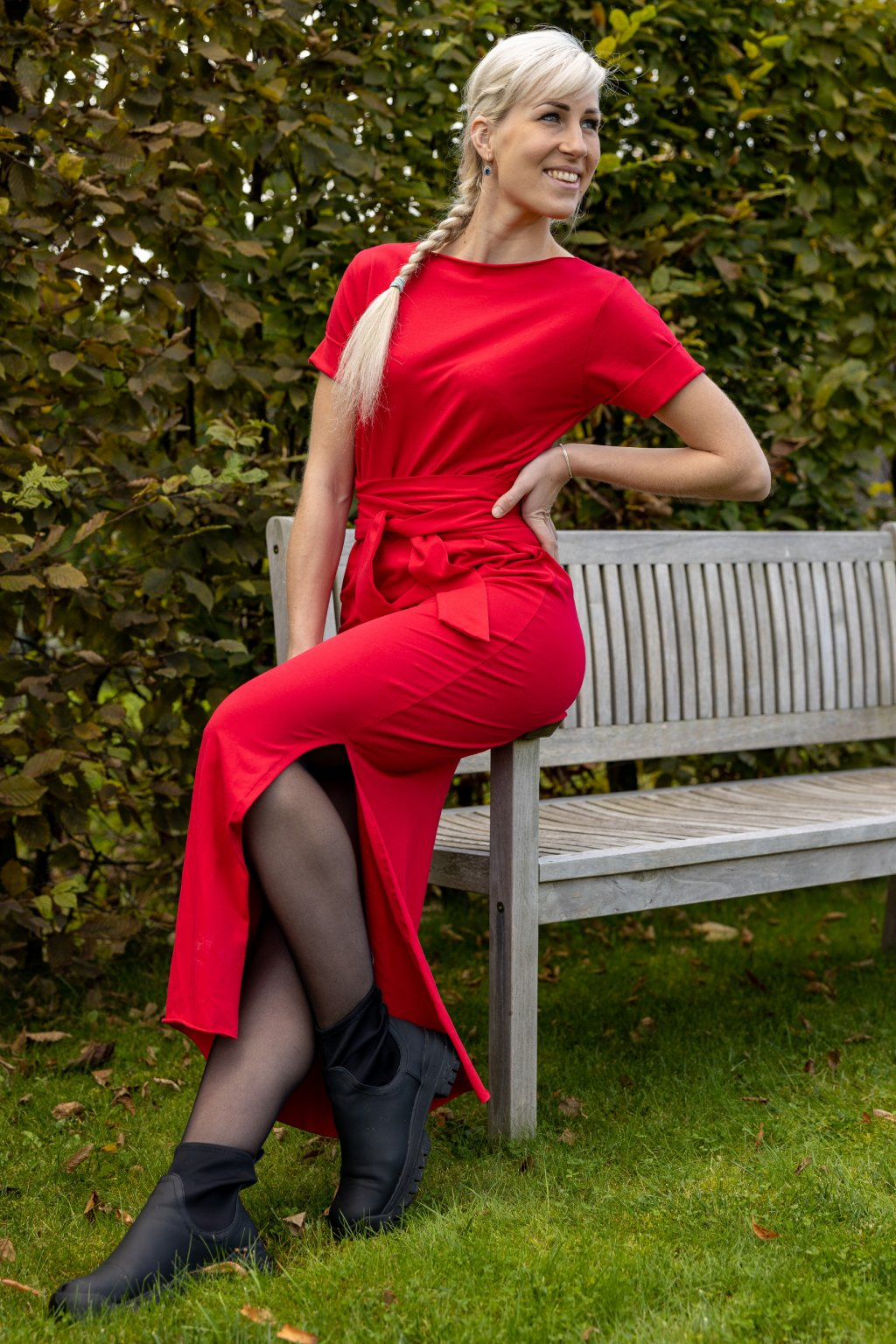 Zavinovací šaty Wrap Dress s krátkým rukávem 7