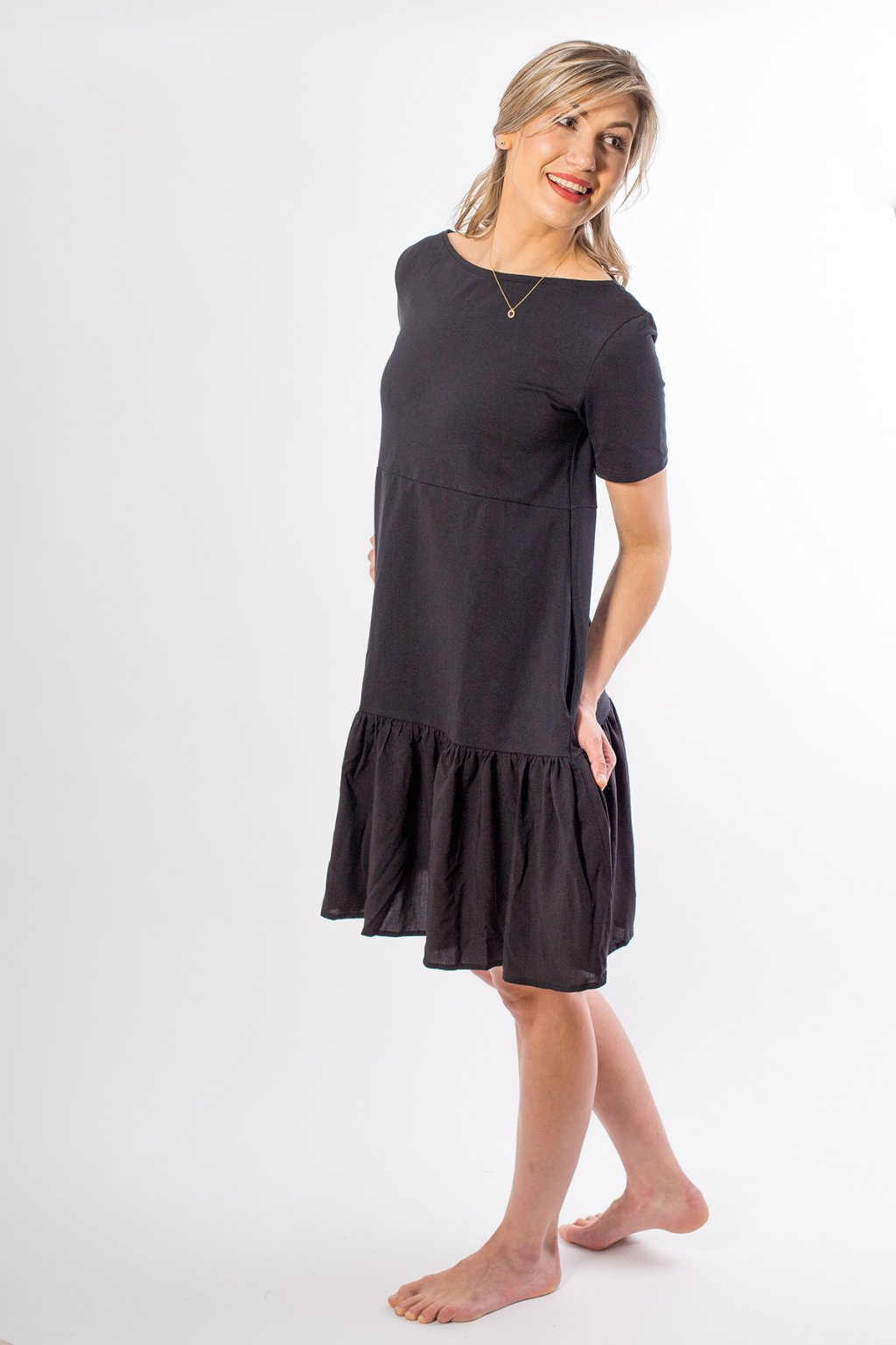 Volánkové šaty Lisa 4