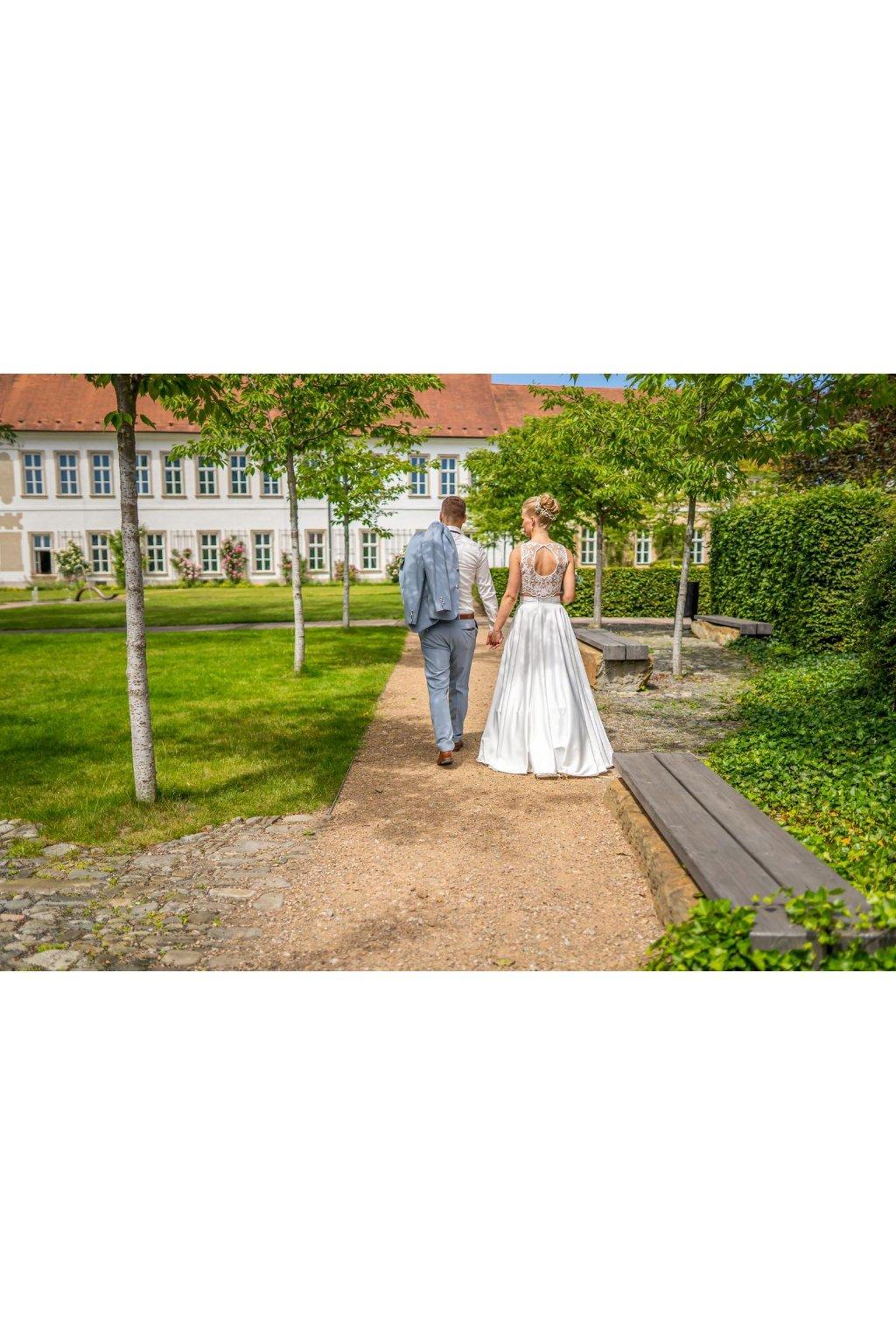 Svatební dlouhá sukně Rosie 2