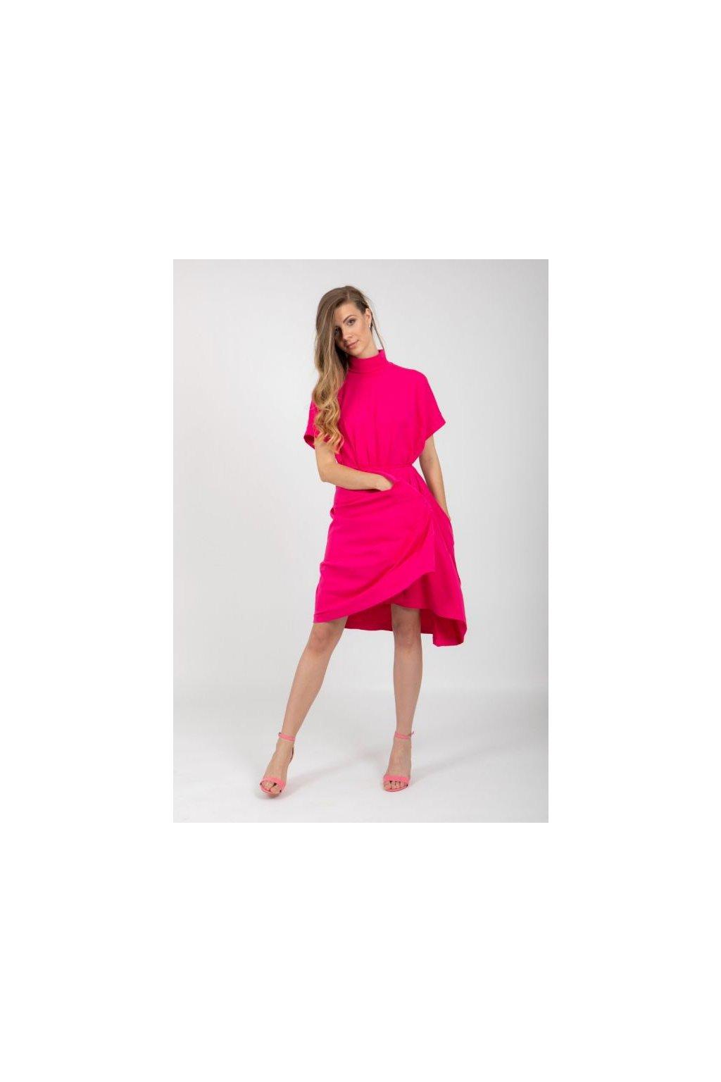 Univerzální úpletová oversize šaty 9