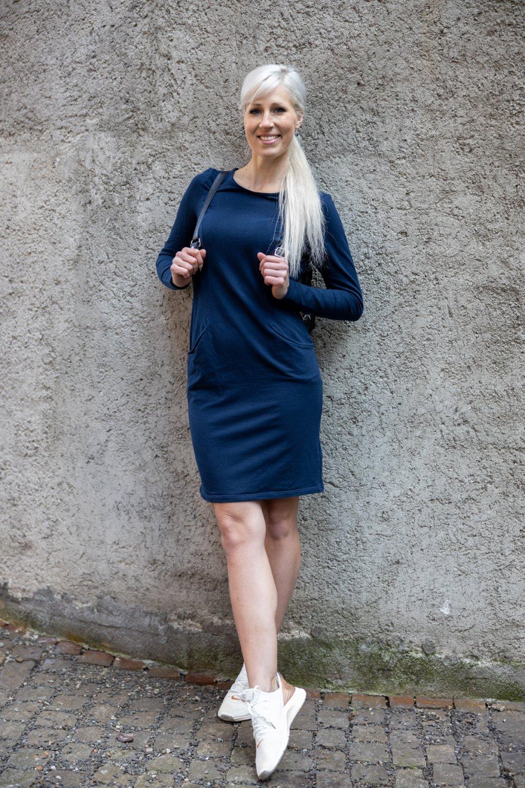 Šaty Short navy 3